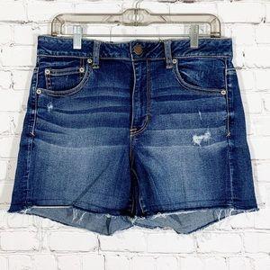 American Eagle Jean Shorts Hi-Rise Shortie